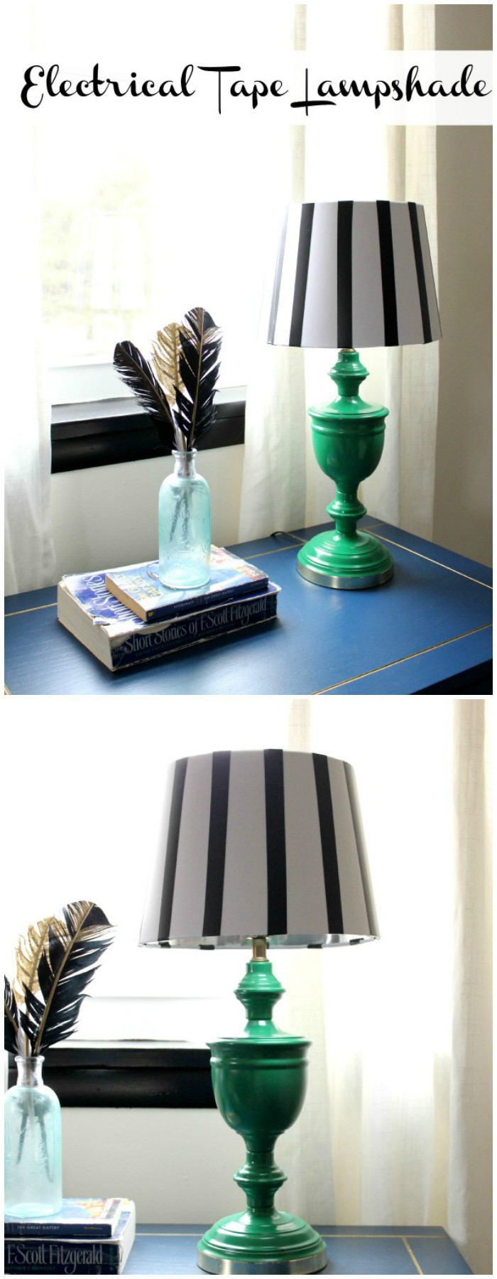 Electrical Tape Lampshade