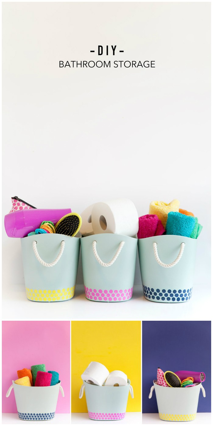 Bathroom Storage Bins