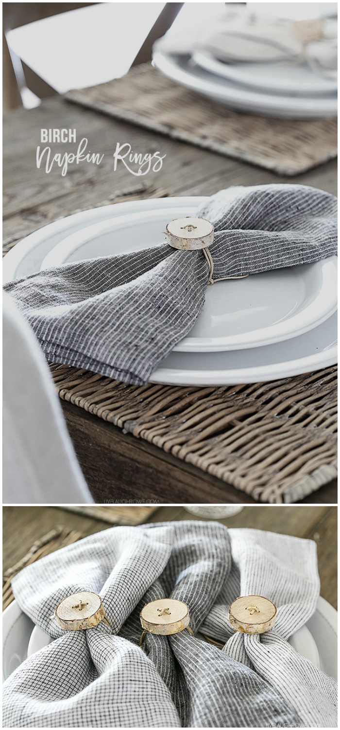 Birch Napkin Rings