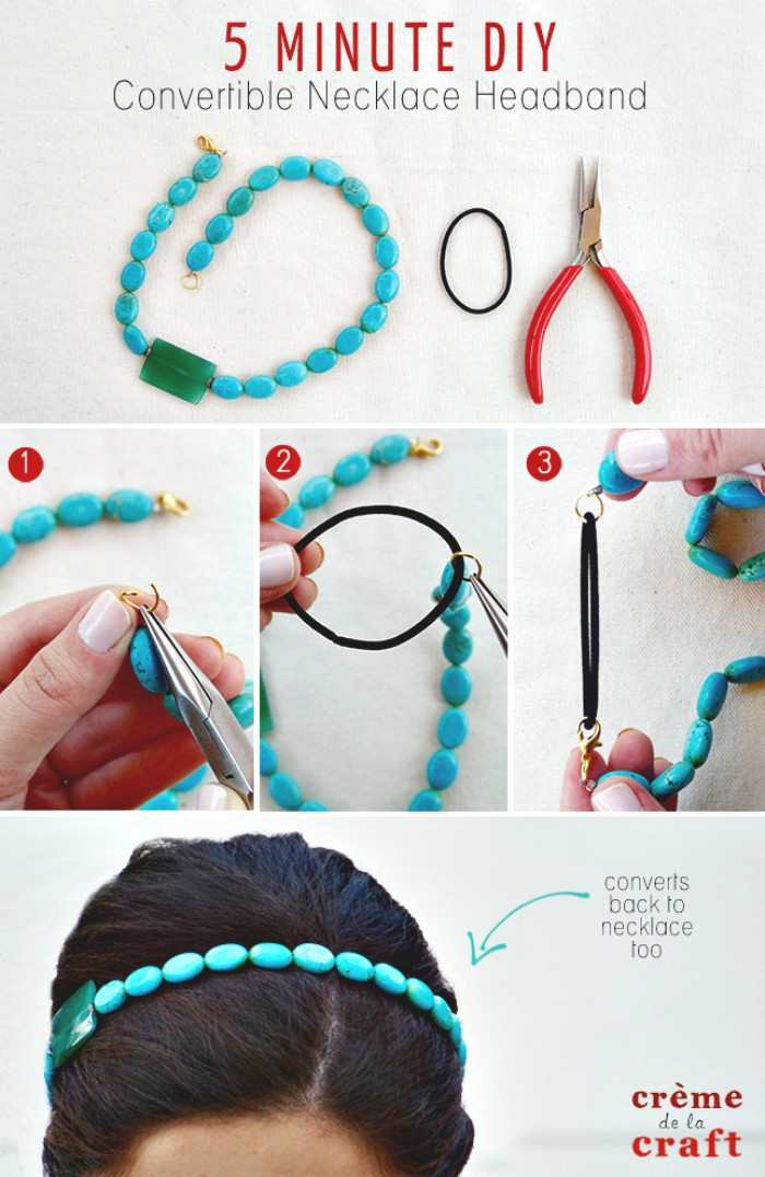 Convertible Necklace Headband