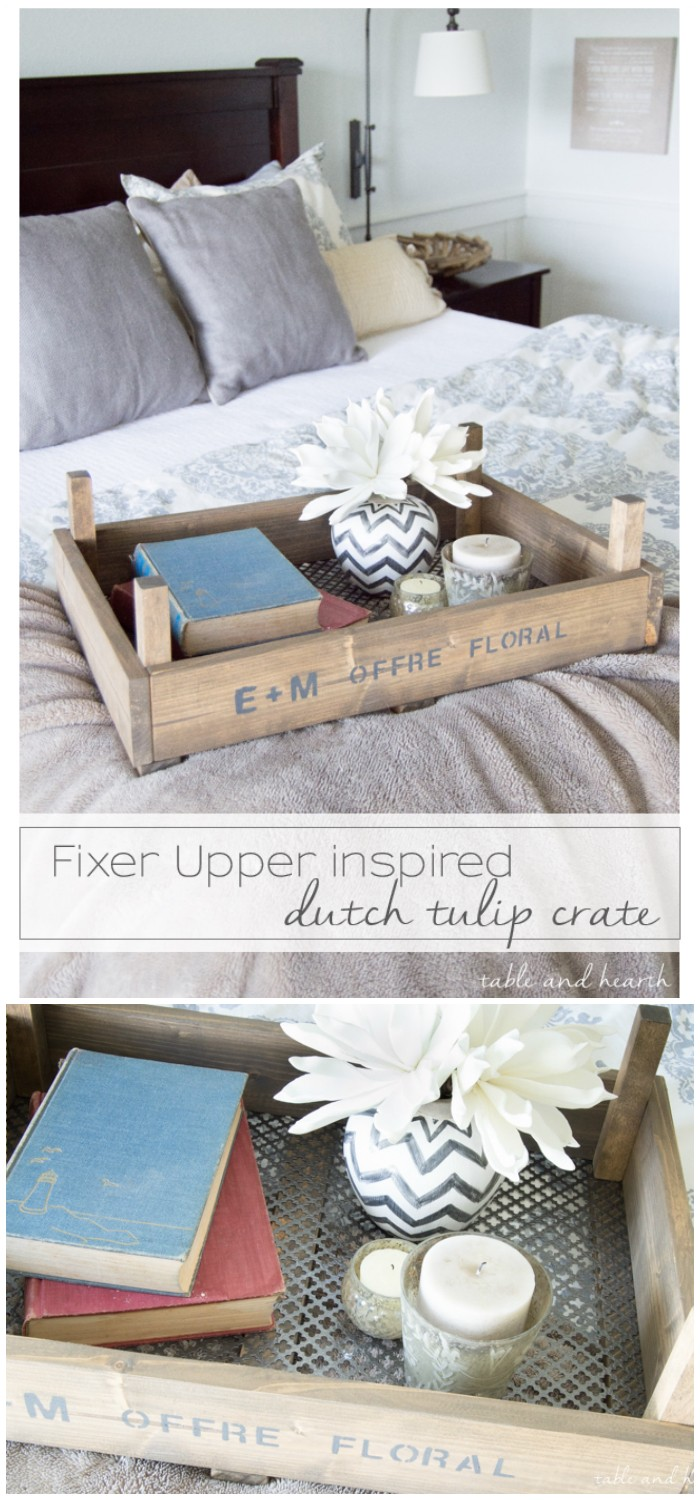 DIY Dutch Tulip Crate