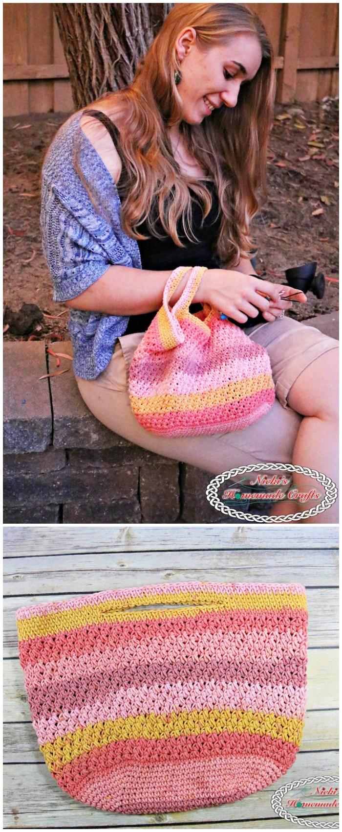 Trinity Crochet Bag