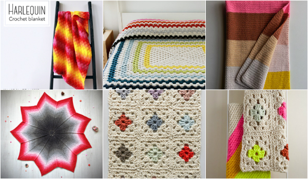 Easy And Awesome Crochet Blankets Patterns