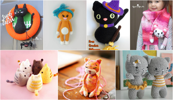 Easy And Cute Crochet Cat Patterns – Free Patterns