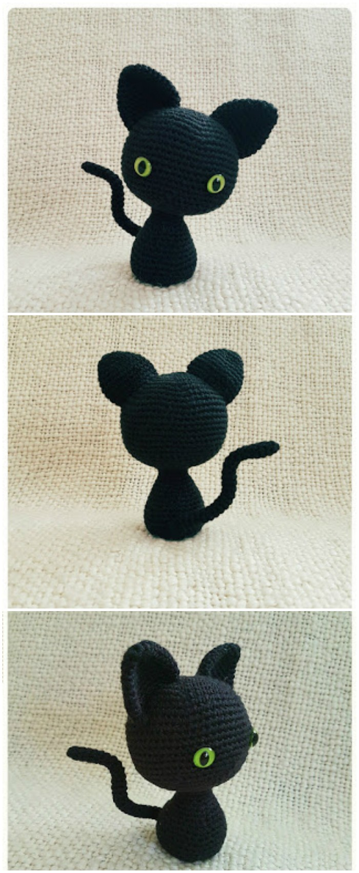 Crochet The Minima' Cat