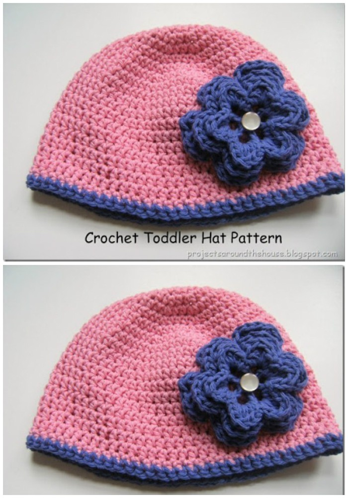 Crochet Toddler Hat Pattern