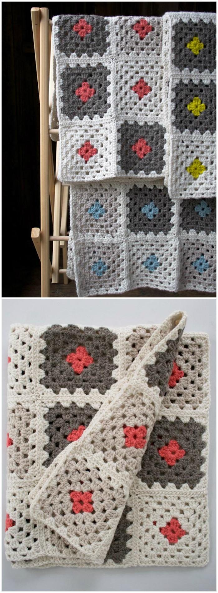 Crochet a Granny Square Blanket Kit