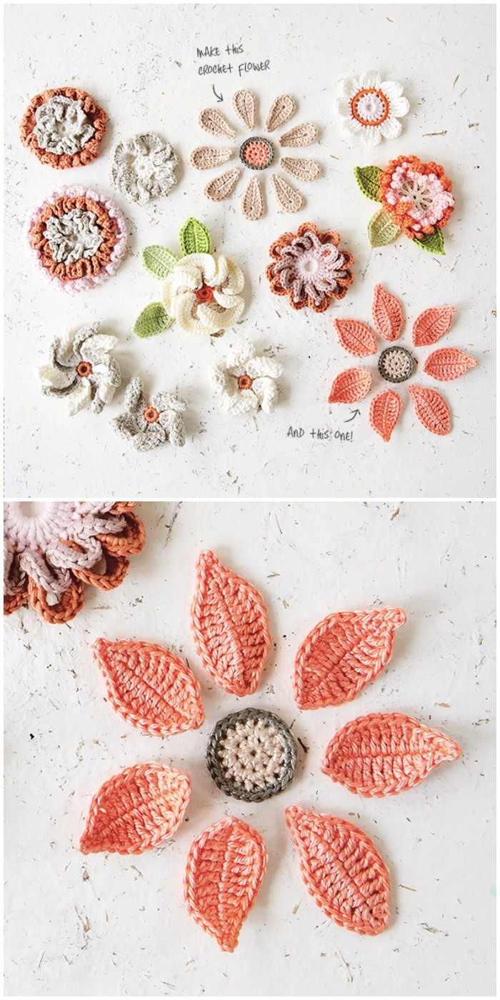 Flowers Crochet Pattern For British
