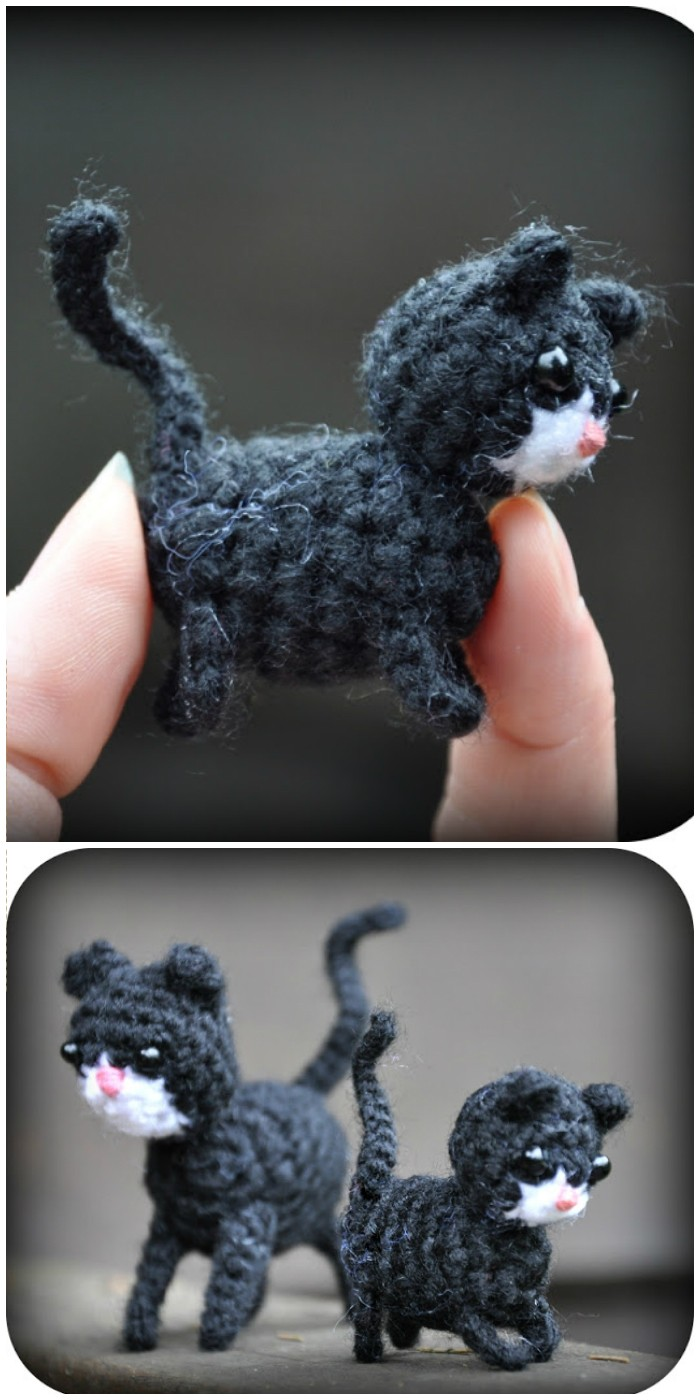 Free Crochet Amigurumi Pattern Cat