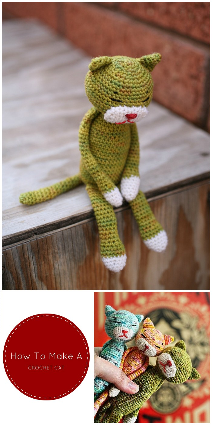 Make A Crochet Cat – Free Pattern