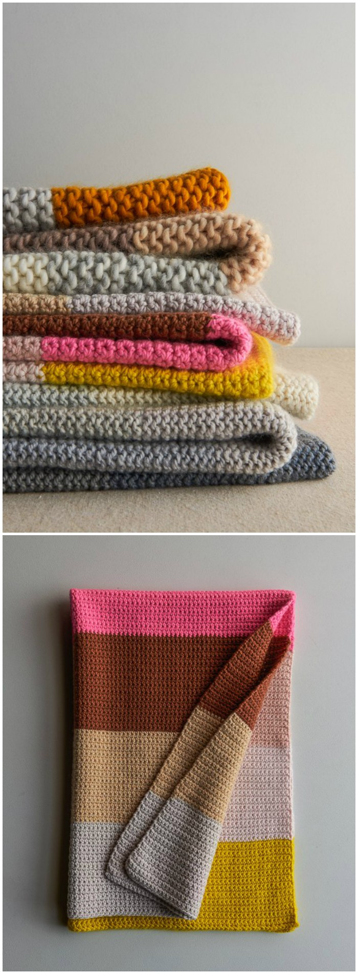 Super Easy Blankets in New Colors