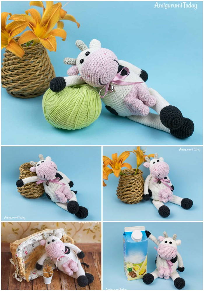 Alpine Cow Crochet Pattern By Amigurumi Today