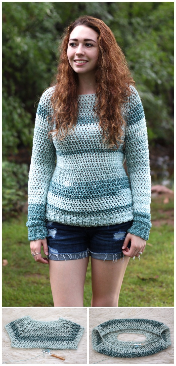 Avary Sweater - Free Crochet Pattern