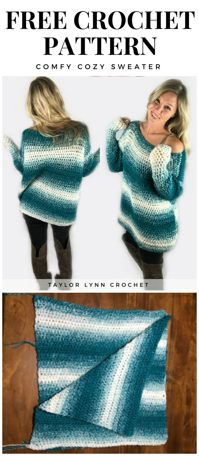 Cozy Crochet Sweater Pattern