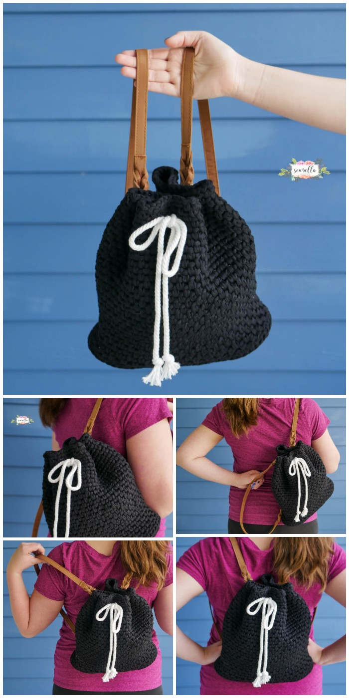 Crochet Daytripper Backpack