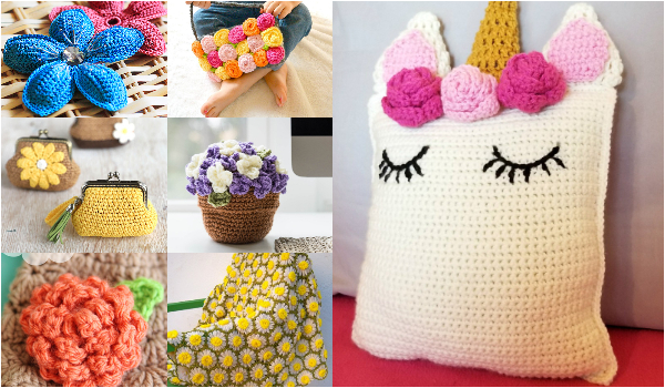 Free Crochet Flower Patterns To Make Your World Beautiful