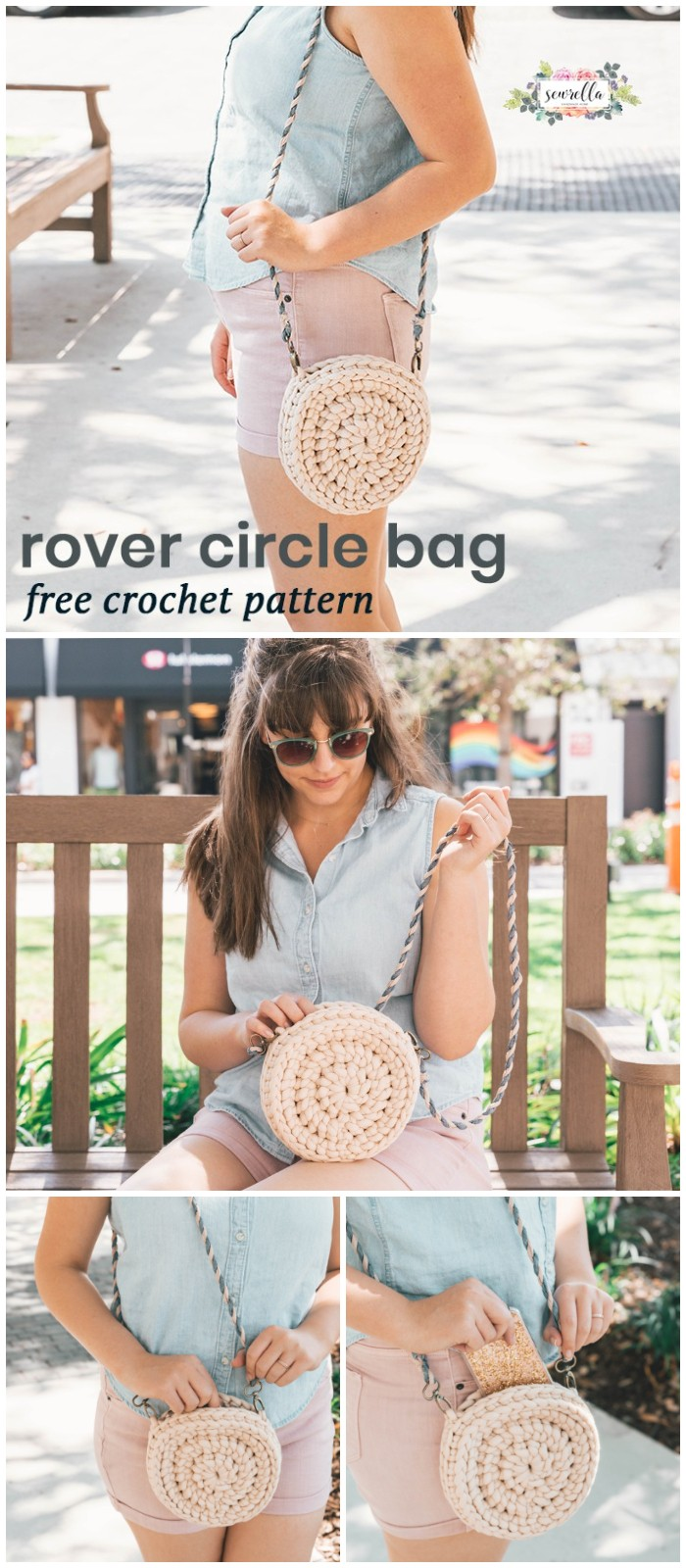 Crochet Rover Circle Bag (with Taylor!)
