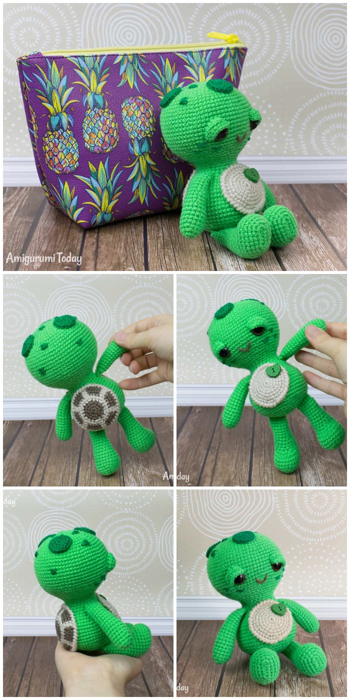 Free Dreamy Turtle Pattern By Amigurumi Today