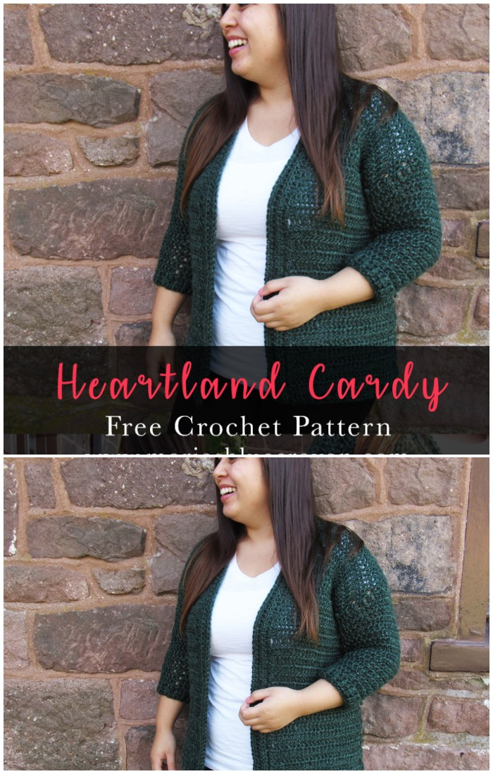 Heartland Cardy Cardigan Crochet Pattern