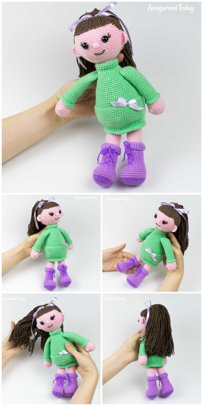 Lulu Doll Amigurumi Pattern By Amigurumi Today