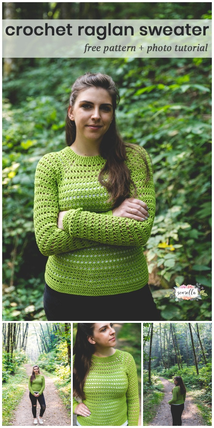 Pullover Sweater – Free Crochet Pattern