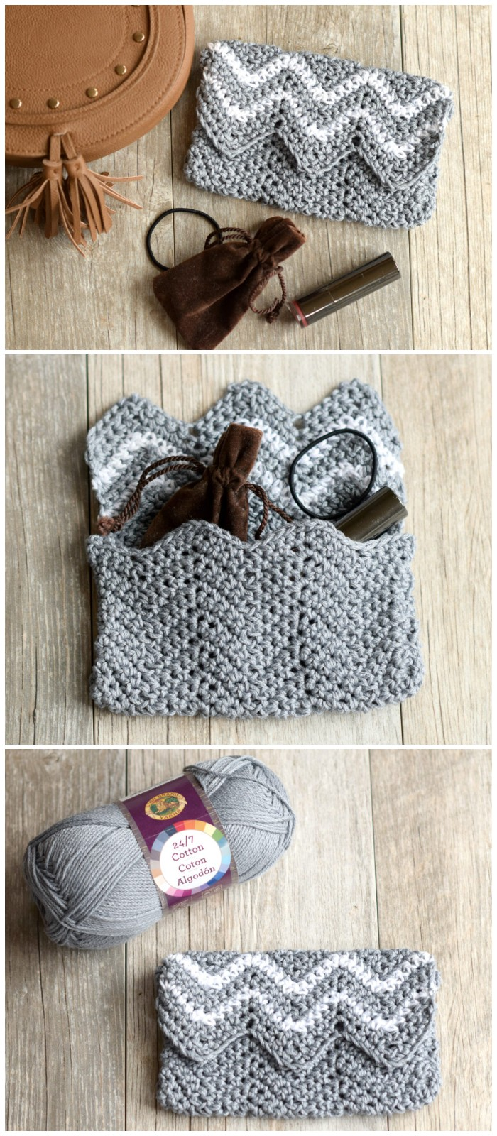 Purse Pouch Crochet Pattern
