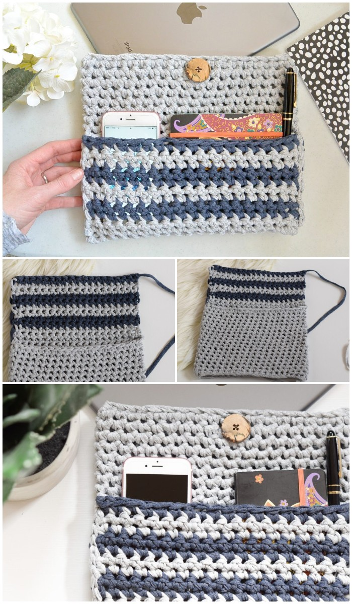 how to crochet an i pad case