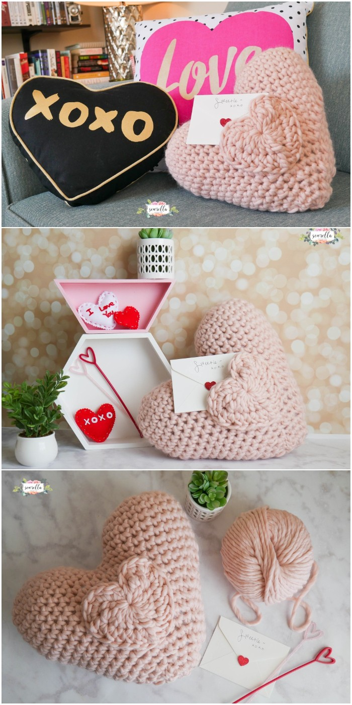 Crochet Pocket Pillow