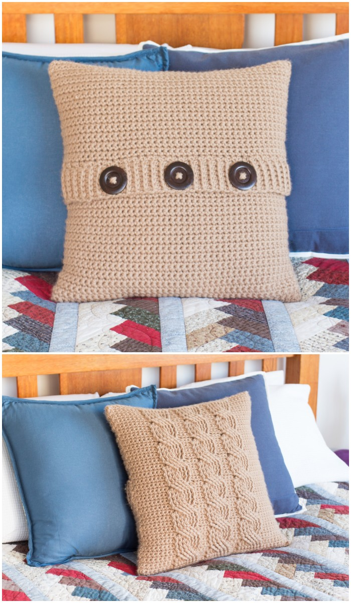 Cushion Cover Crochet Pattern