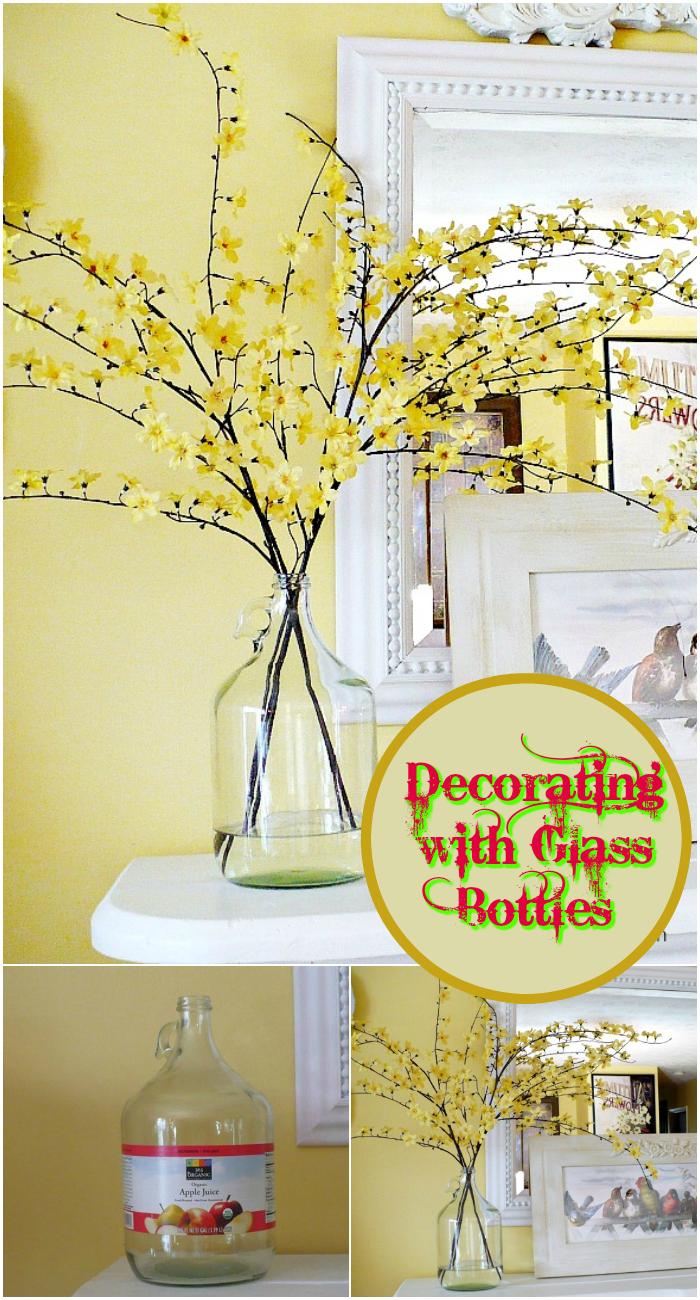 DIY Bottle Decorations