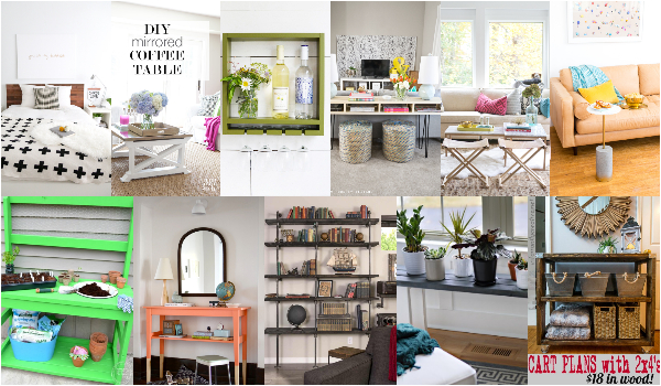 DIY Furniture Ideas To Make Your Home Beautiful
