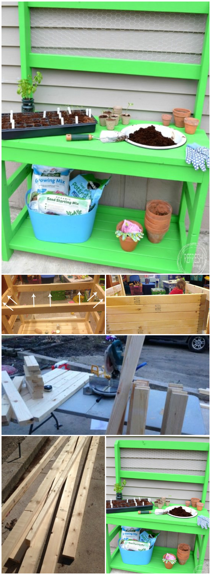 Great Garden Potting Bench